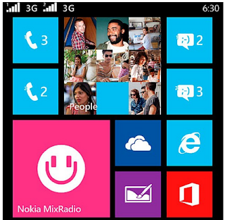 Nokia First Dual SIM Windows 8.1 Smartphone