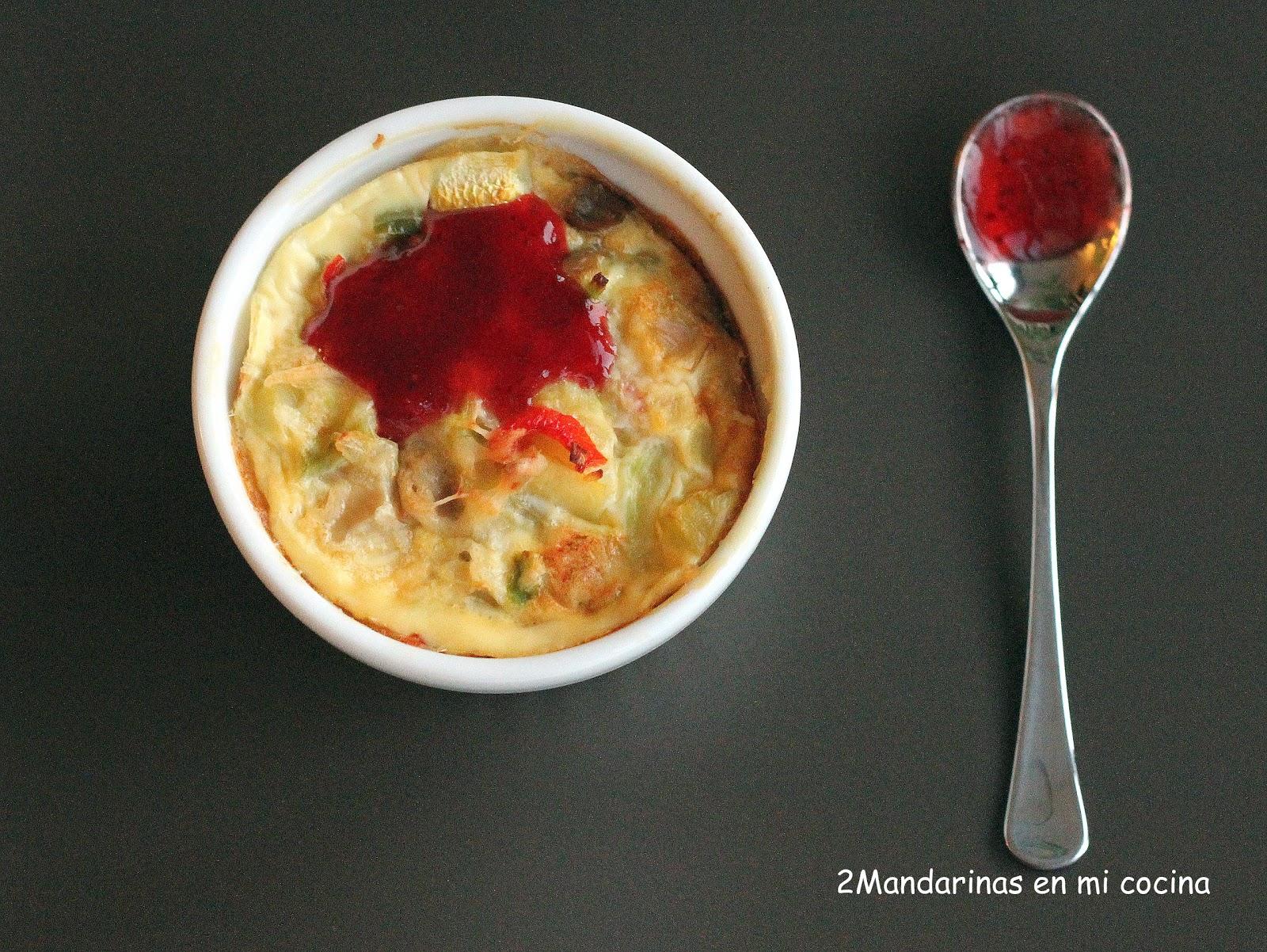 Flanes de verduras caramelizadas cocinando con lazy blog - Lazy blog cocina ...