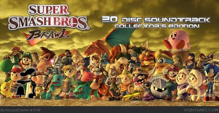 Los personajes de Nintendo en una foto: