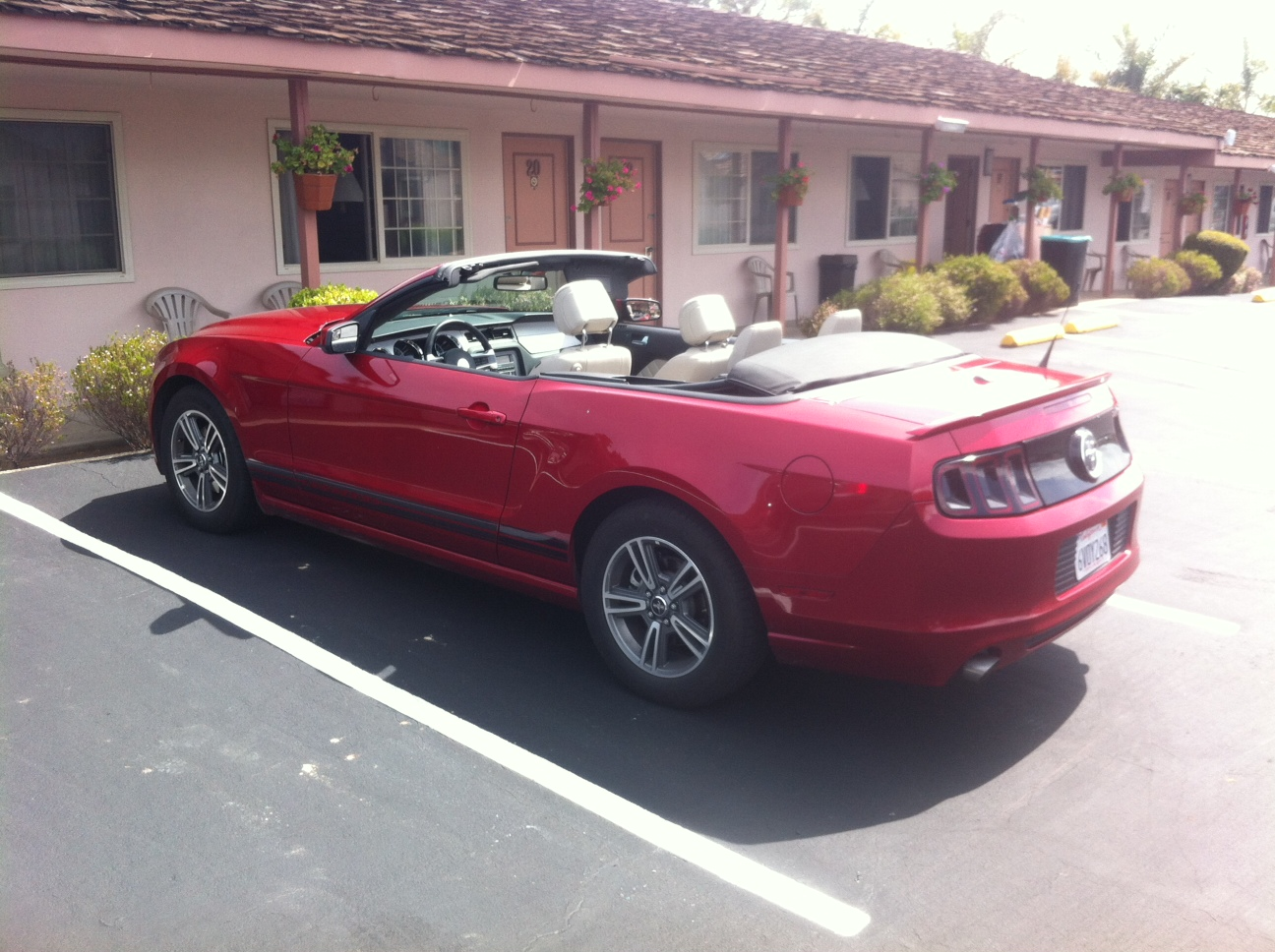 What do you get if you book convertible car rental in usa