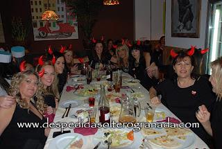 despedida de soltera ángeles y demonios Granada