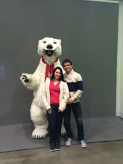 urso da coca-cola - loja da coca-cola - las vegas