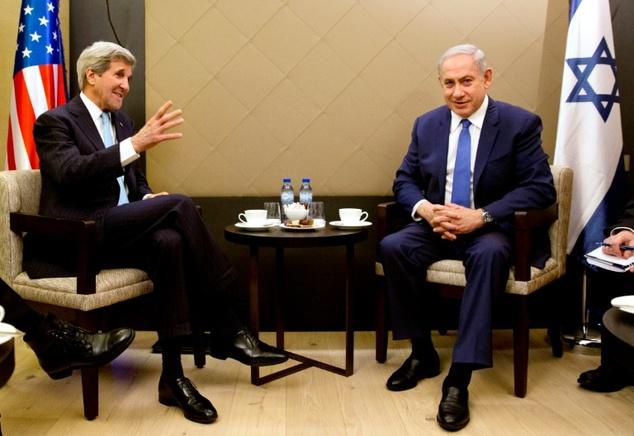 Kerry & Netanyahu Meet In Rome