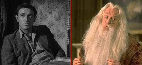 Richard+Harris+ +Alvo+Dumbledore+Sai+Chul%C3%A9 Atores do Harry Potter quando eram mais jovens