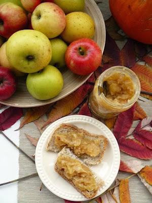 Dżem jabłkowy z toffi