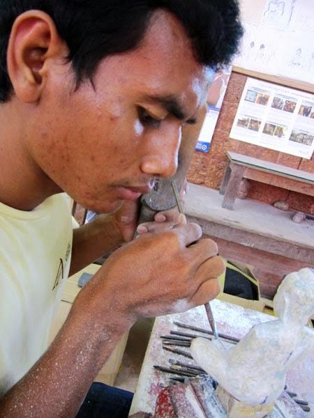 Cambodian sculptor