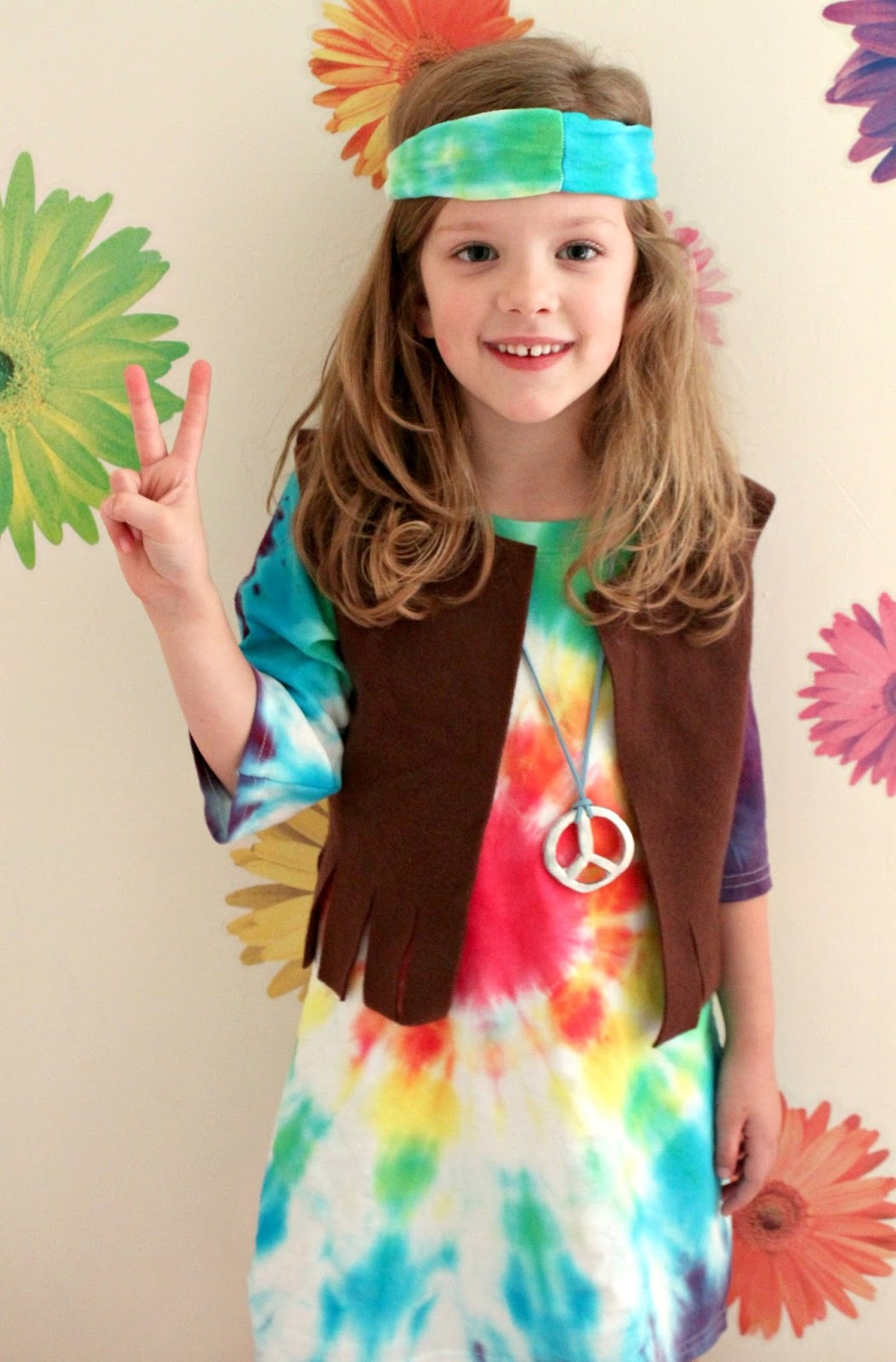 EAT+SLEEP+MAKE: Kid's Hippie Costume Tutorial