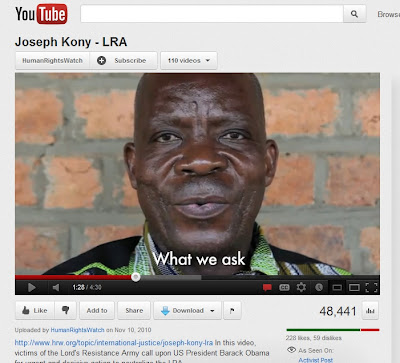 KonyHRW 2010 Phony Kony 2012 part 2: License for Imperial Conquest
