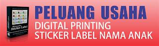 ... printing, peluang usaha digital printing, stiker anak, cutting sticker