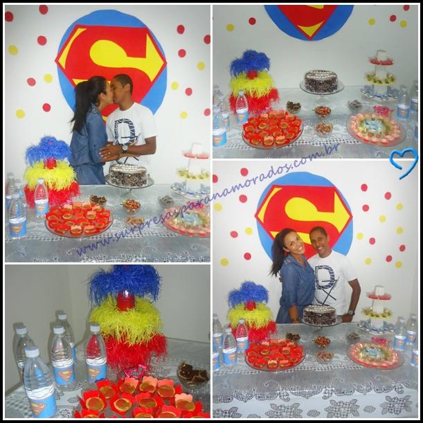 Suficiente Festa do Super Homem | Surpresas para Namorados FC42