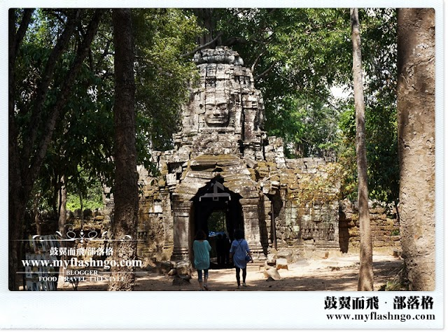 Travel Cambodia 2015 | 大吴哥城之 《达松将军庙》 Ta Som (3)