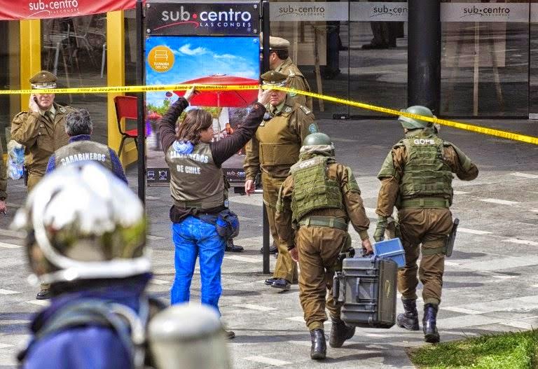 Otro atentado en Chile: una bomba estalló en supermercado