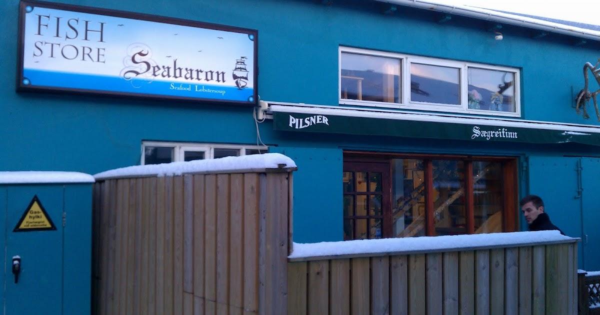 Destination Eats: Iceland: Saegreifinn (Sea Baron)