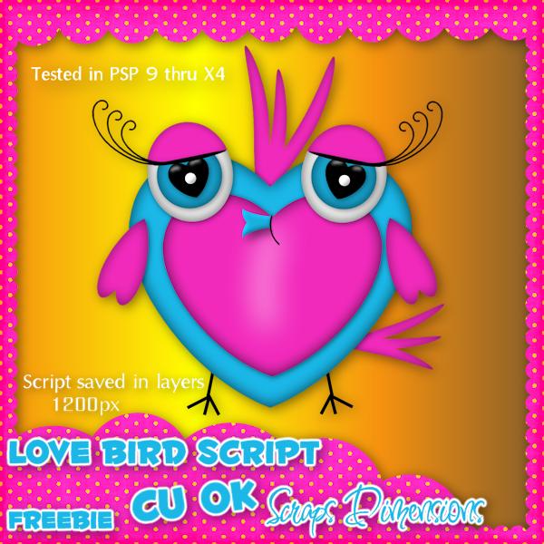 CU LOVE BIRD SCRIPT SD+CU+LB+PREVIEW