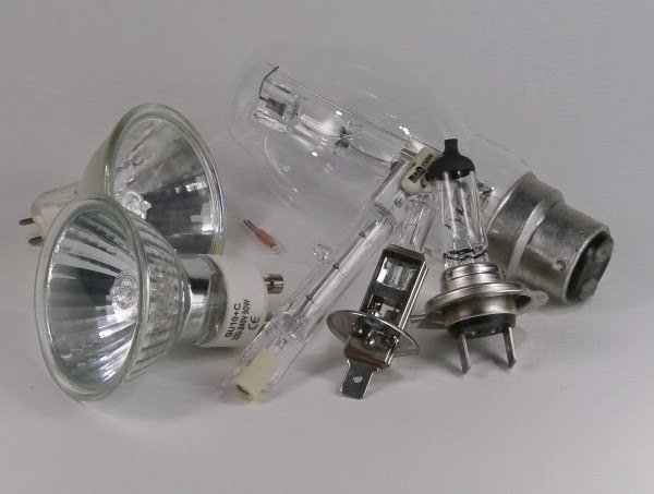 miscellaneous halogen bulbs