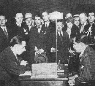 Partida de ajedrez Colle-Capablanca en el Torneo Internacional de Ajedrez Barcelona 1929