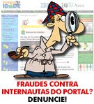Fraudes contra internautas do Portal