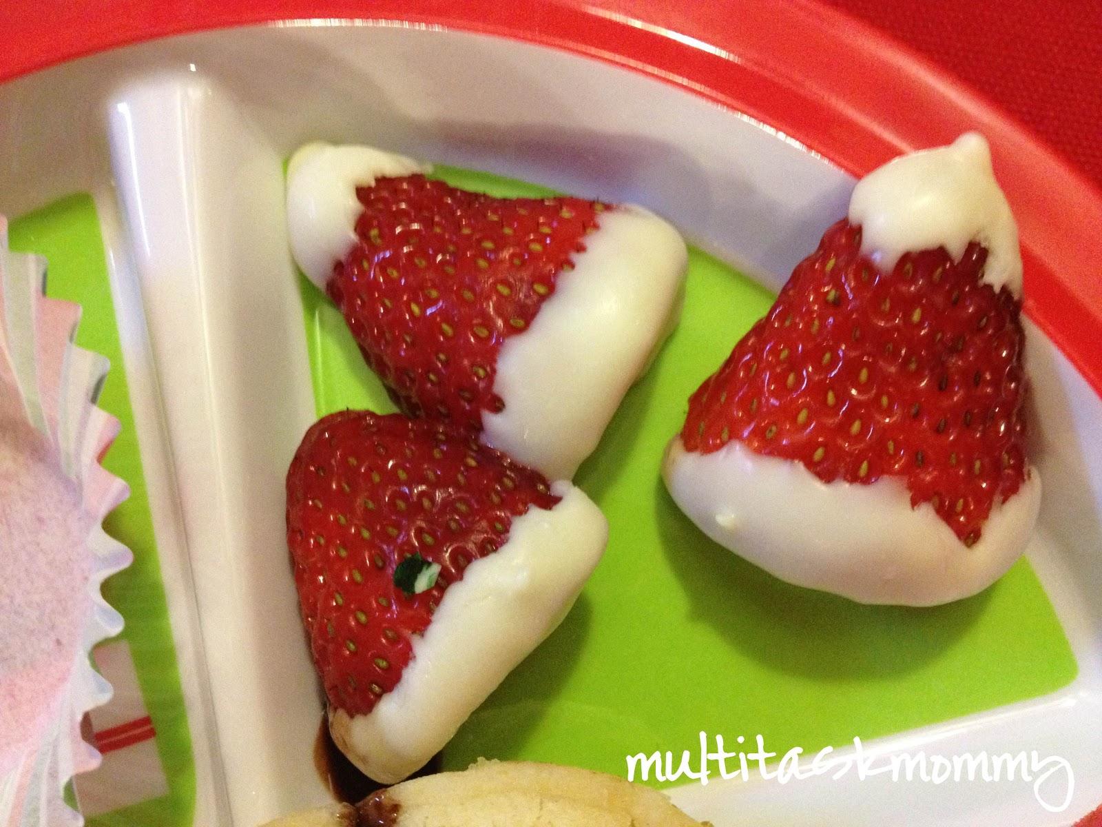 treat strawberries strawberries and cream strawberries and cream bars ...