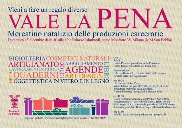 mercatini a Milano domenica 15 dicembre 2013
