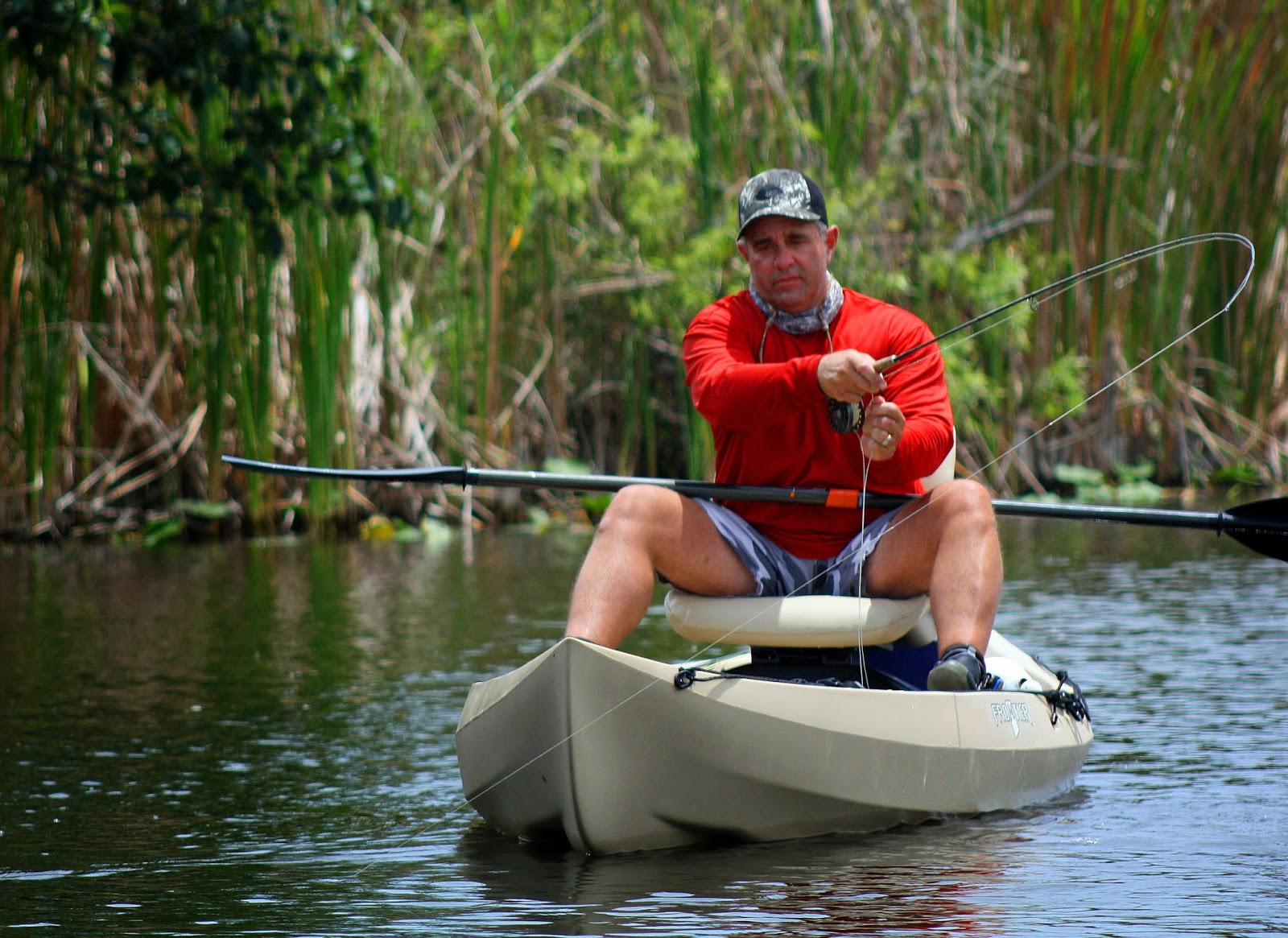 Southern kayak kronicles improved forecast for june for Most stable fishing kayak