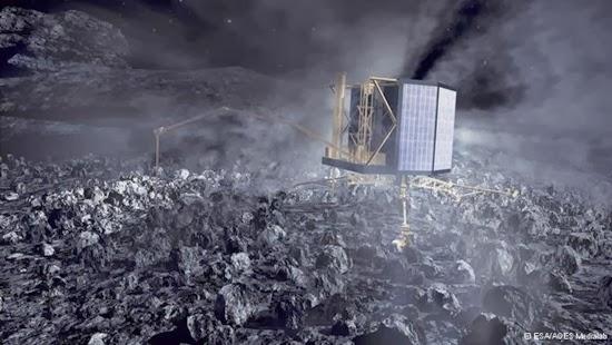 Wahana Antariksa Rosetta Dibangunkan dari Tidurnya Sore Ini