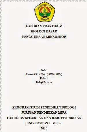 Contoh Laporan Praktikum Biologi Dasar Penggunaan Mikroskop Model Rambut Pendek Panjang Wanita