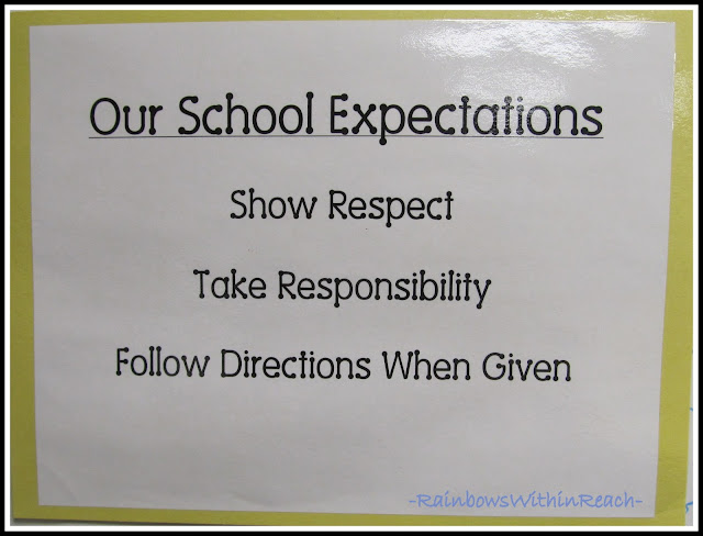 photo of: School Expectations Check List