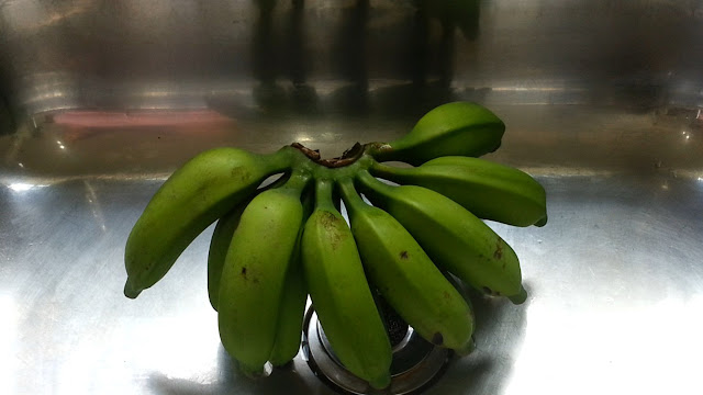 bananas orgânicas