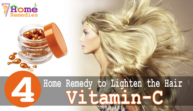 Apply Vitamin C capsule on your hair