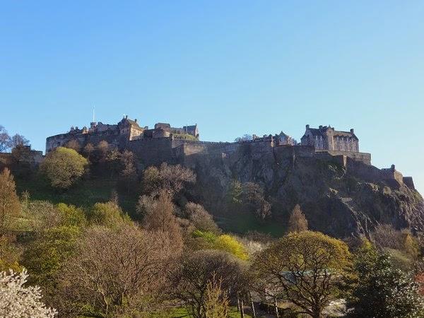 édimbourg edinburgh scotland écosse old town castle château