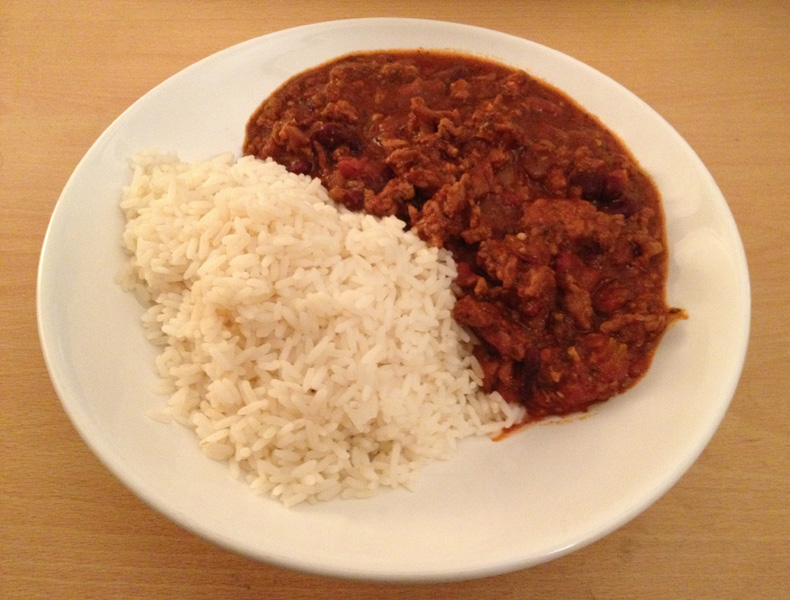 Free From G.: Gluten Free Chilli Con Carne