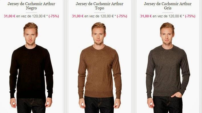 Tres modelos de jerséis de esta oferta