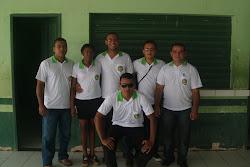 professores da escola Reinaldo no desfile