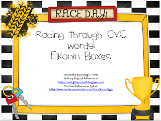 http://www.teacherspayteachers.com/Product/Racing-through-CVC-words-Elkonin-Boxes-986009