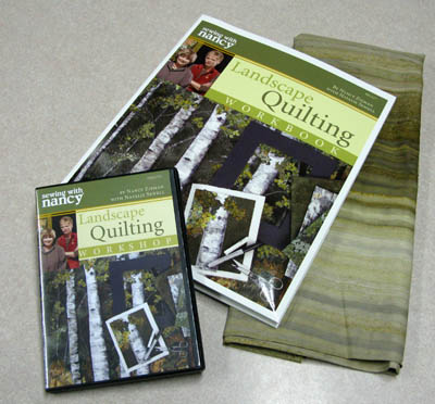 Landscape Quilting Workshop and DVD from Nancy's Notions