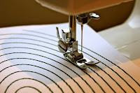 Упражнения, чтобы узнать швейную машину