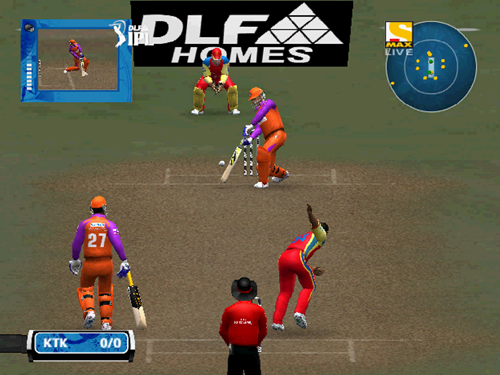About DLF IPL Cricket Game