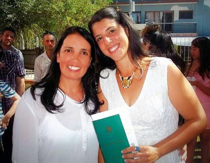 Mabel Sugo y Andrea Aguerre