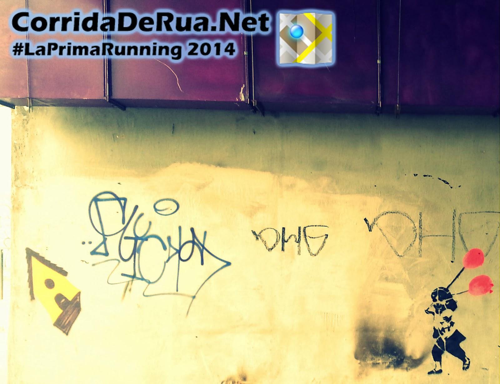 Arte nos muros - Corrida De Rua