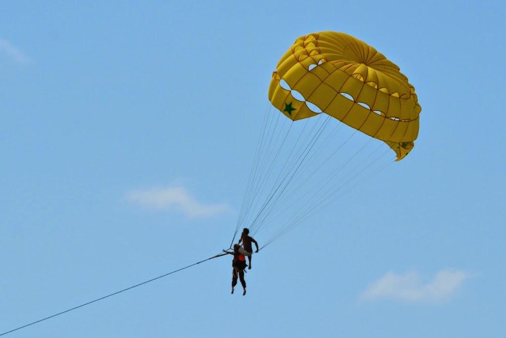 Patong Beach Phuket parasailing