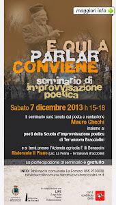 APPUNTAMENTI INCONTRI EVENTI NON SOLO CULTURALI DI DICEMBRE 2013