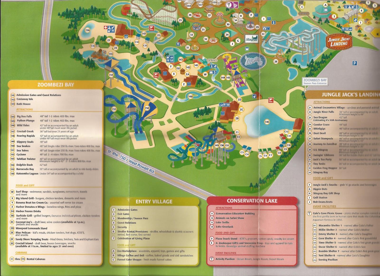 Houston Zoo Map - Houston zoo map