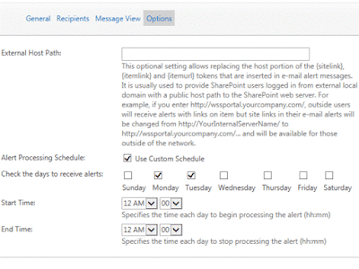 SharePoint Alerts and Reminders by VirtoSoftware