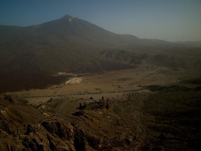 Llanos de Ucanca desde el Sombrero de Chasna
