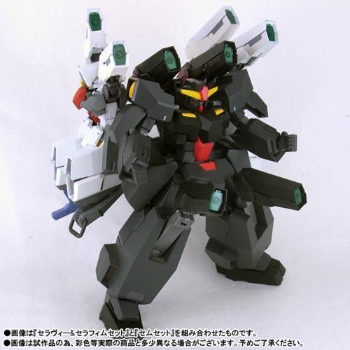 Robot Damashii Seravee Seraphim Set