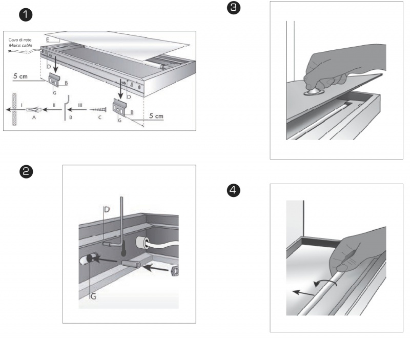 Estantes De Aluminio Para Baño:estante luminoso cocina aluminio