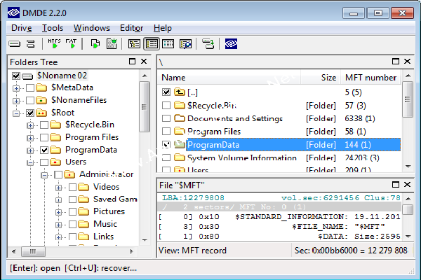 About DMDE (DM Disk Editor and Data Recovery Software)