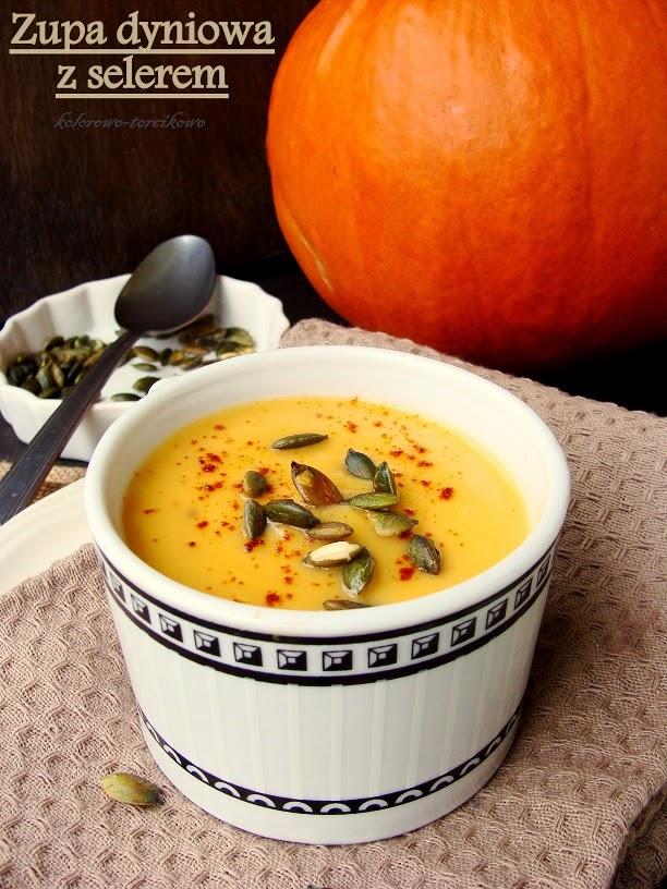 Zupa dyniowa z selerem