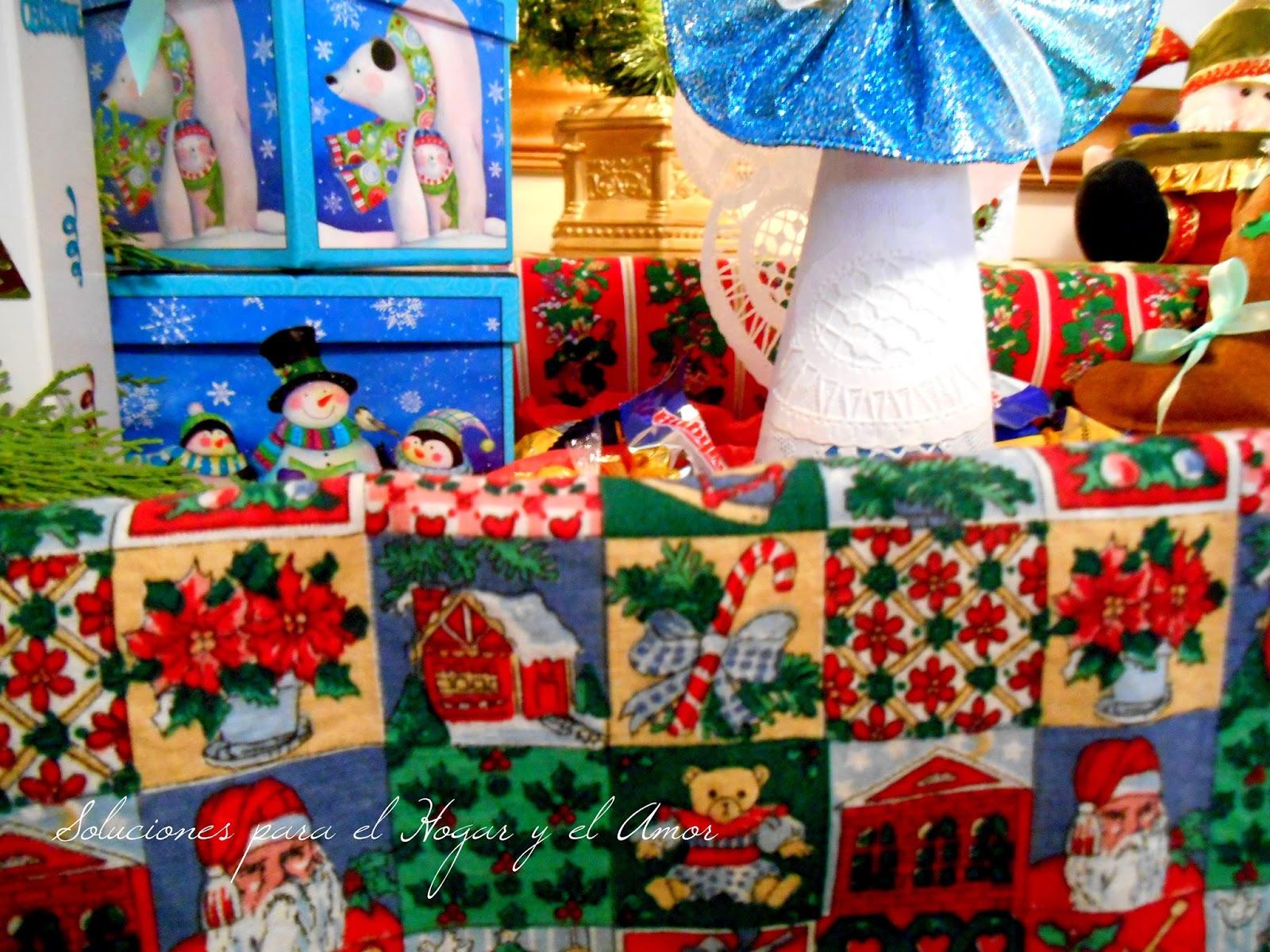 Caja de Madera Rústica Decorada para Navidad