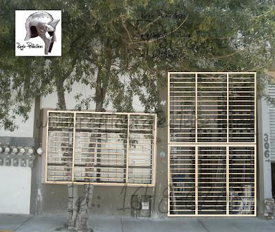 Propuesta rejas y puertas principales, Centro de Monterrey
